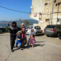 Rosh Pina, Safed and mount Meron