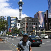 Arrival to Auckland