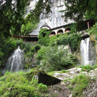 Trümmelbach falls and around lake Brienz