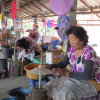 The artisan village near Chiang Mai